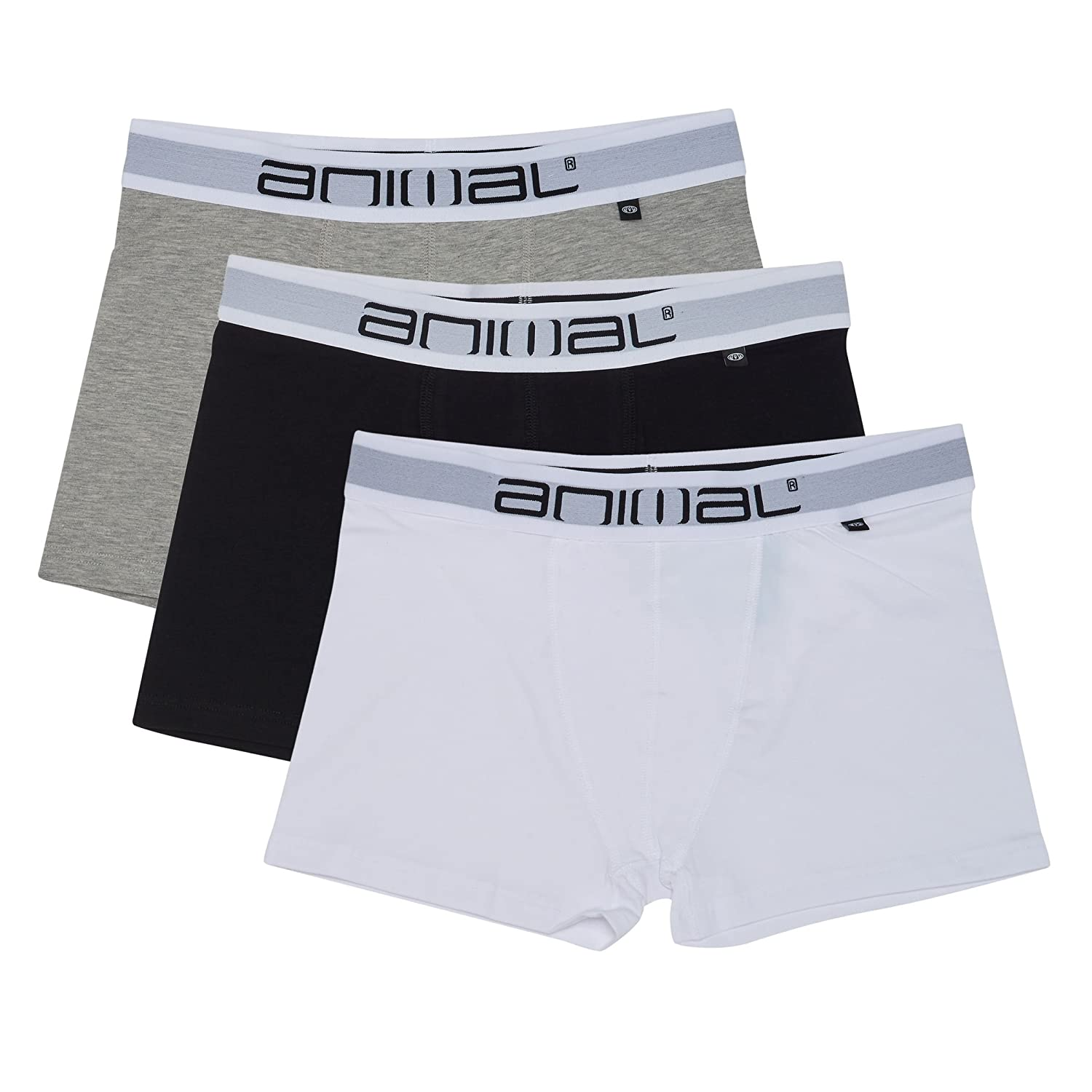 Animal Boxers - Animal Asta 3 Pack Boxer Shorts...
