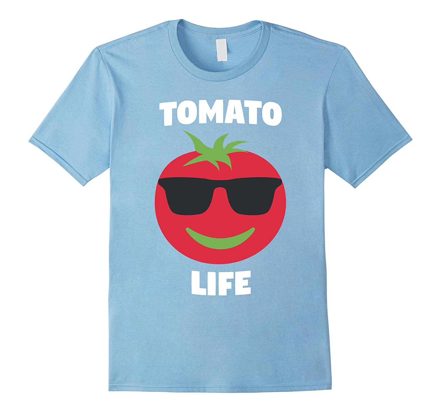 Tomato Life - Funny Sunglasses Tomato T Shirt for Vegetarian-BN