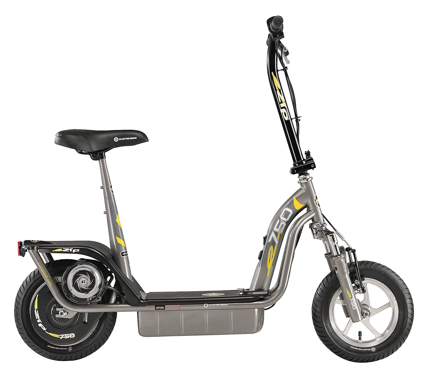 Amazon.com: Tecnologías de Currie e-Zip E750 Scooter ...