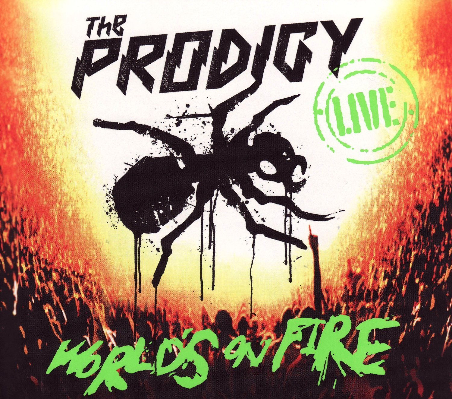 Live World's On Fire by Cooking Vinyl