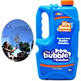 Joyin Toy Bubble Solution Refill (up to 2.5 Gallon) BIG Bubble Solution 32 Ounce CONCENTRATED Solution for Bubble Machine, Easter