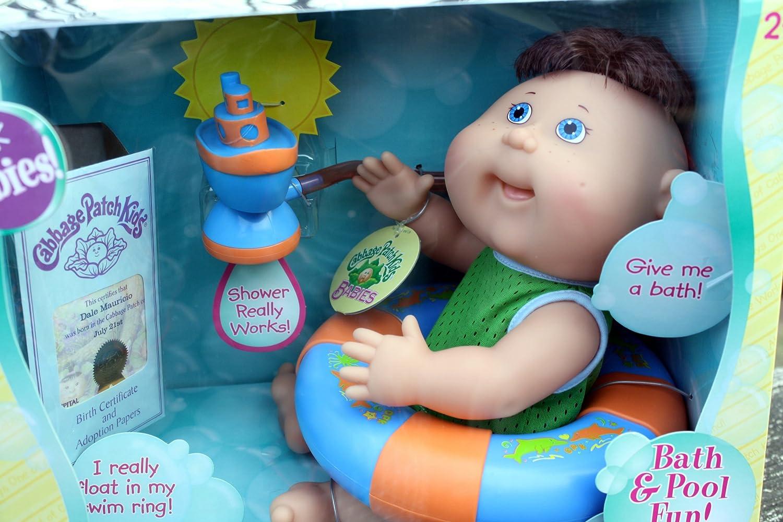 Amazon.com: Cabbage Patch Kids PRNT CPK Splash Babies (Bath and Pool ...
