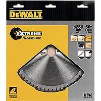 DeWalt Stationär cirkelsågblad/cirkelsågblad Extreme (250/30 mm 60WZ, fina snitt och tvärsnitt), DT4351
