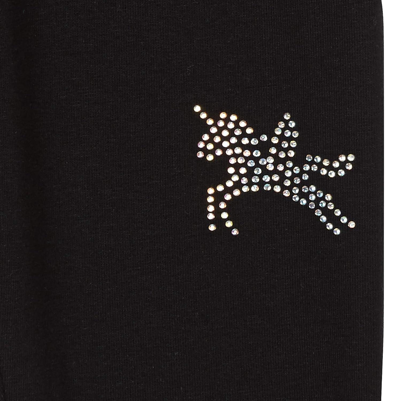 bd897c3cdfed7 bluezoo Girls' Black Diamante Unicorn Leggings Age 4-14 Years: bluezoo:  Amazon.co.uk: Clothing
