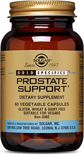 Solgar – Prostate Support, 60 Vegetable Capsules