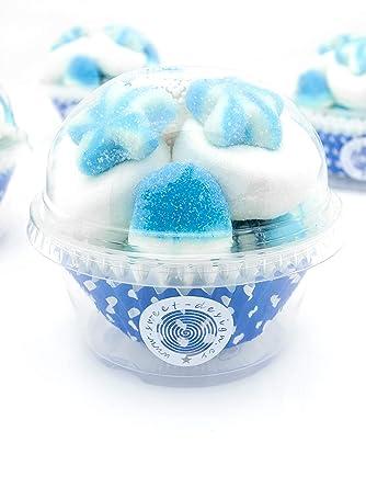 Cupcake chuches azules (80): Amazon.es: Alimentación y bebidas
