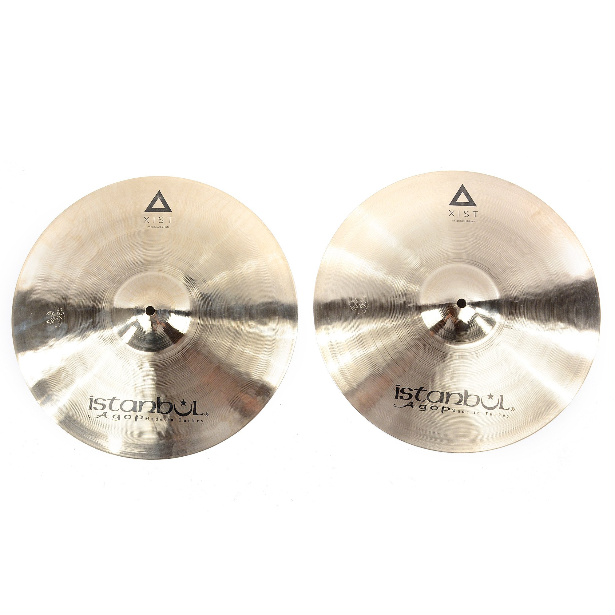 Istanbul Agop 15'' Xist Brilliant Hi Hat Pair by Istanbul