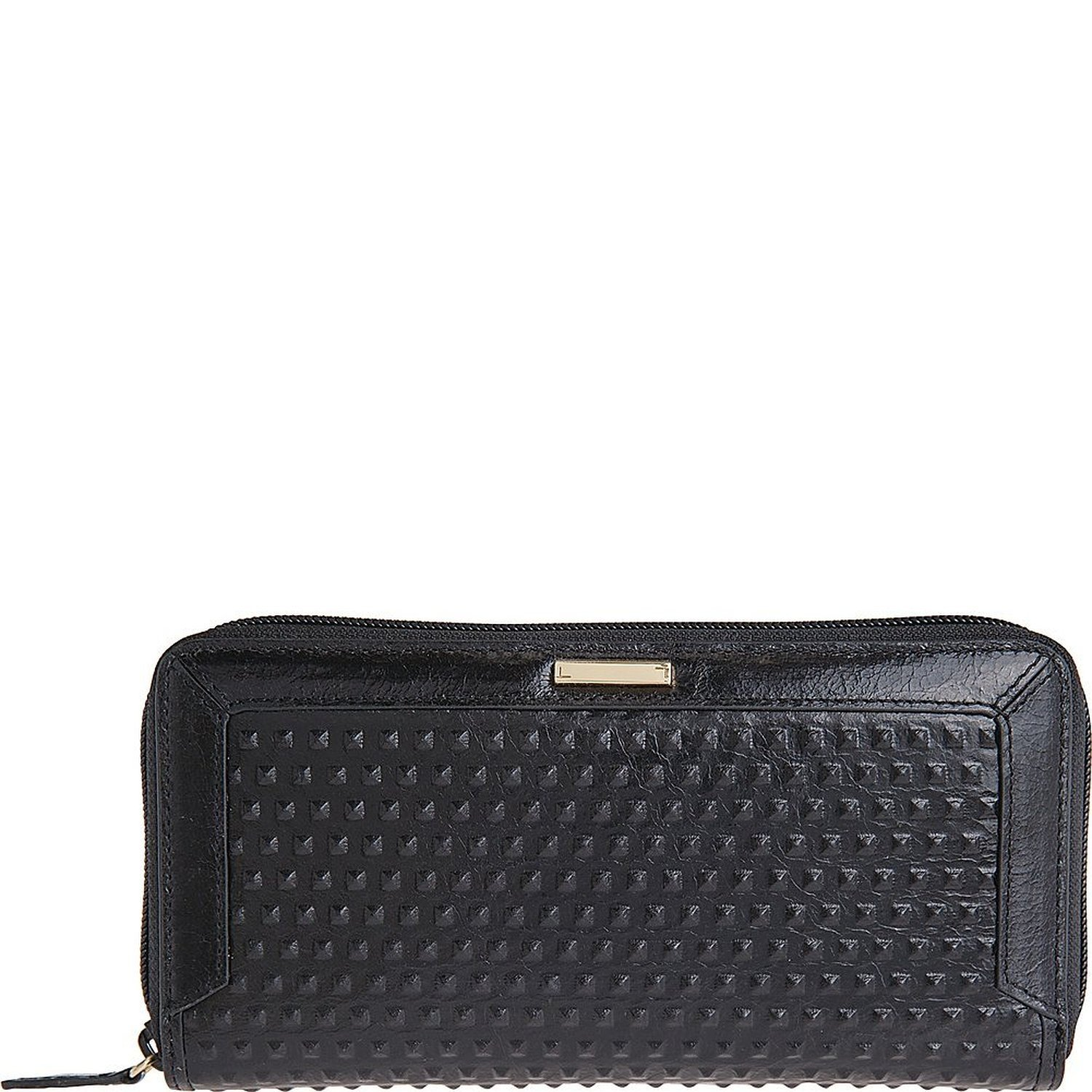 Lodis Accessories Women's Cadiz Joya Wallet Black Checkbook Wallet