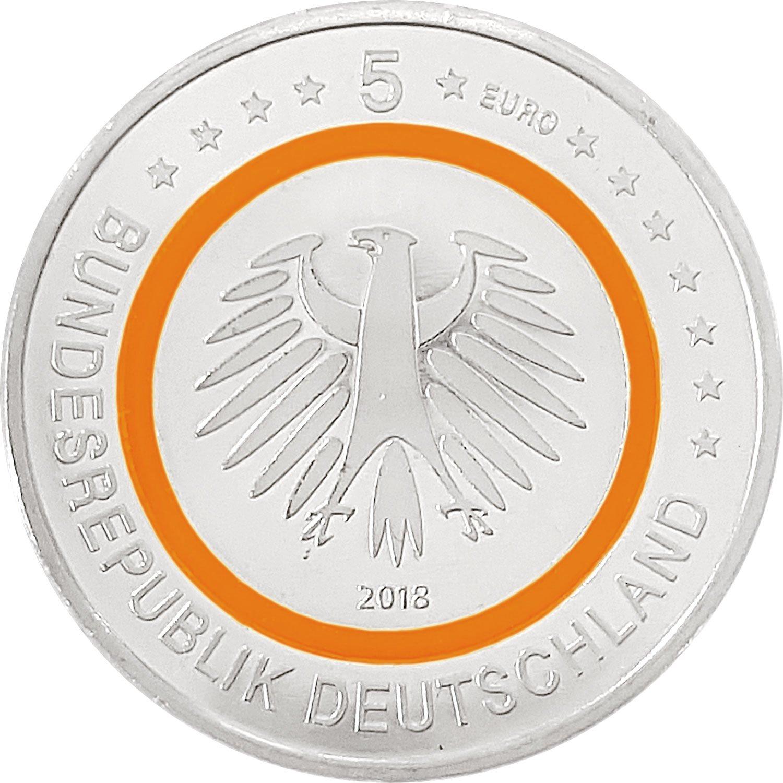 5 Euro Gedenkmünze Deuschland 2018 Pp Subtropische Zone Amazonde