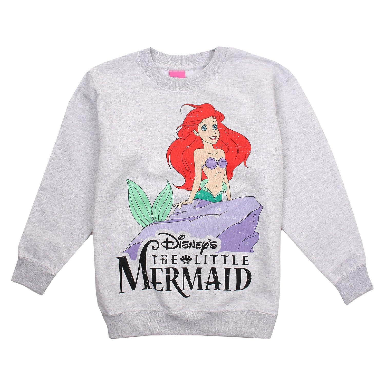 Disney The Little Mermaid Girls Classic Sweatshirt