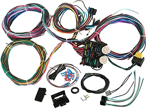 car wiring harness kits amazon com bettercloud 12 circuit wire wiring harness kit street  wire wiring harness kit street
