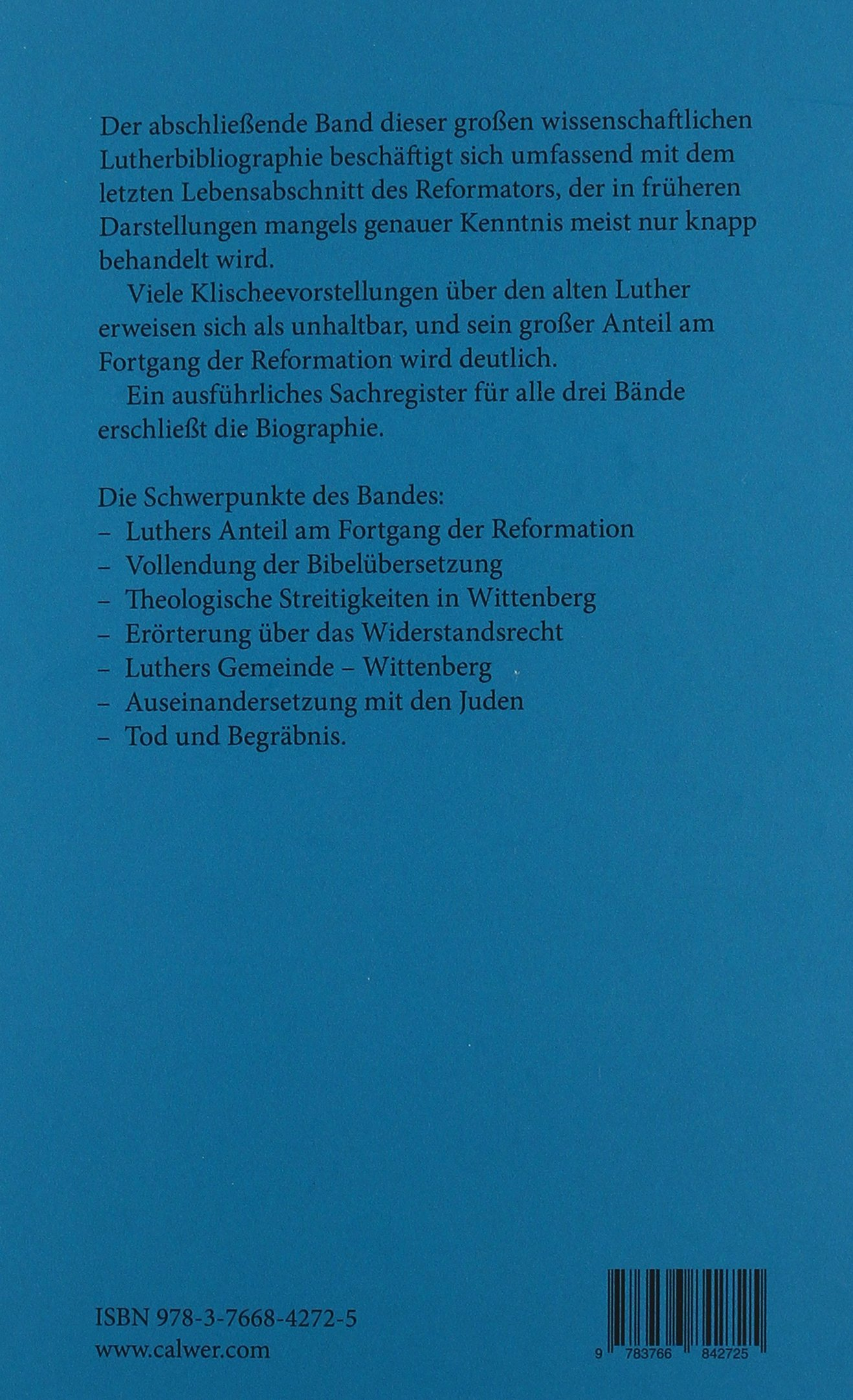 Martin Luther 3 Bände Amazon Martin Brecht Bücher