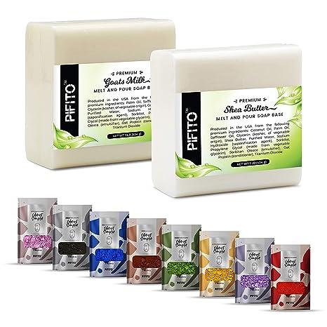 Pifito DIY Kit de suministros para hacer jabón de manos - El ...