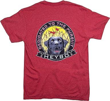 Heybo Spook Black Lab Short Sleeve T-Shirt-tan-Large