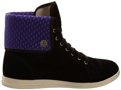 Crocs Lopro Suède Salut-dessus Chaussure, Chaussure, Femme Noire (noir / Ultraviolet), 34-35 Ue