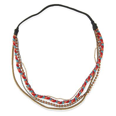 classique achat spécial vente au royaume uni balabooste-bijoux of cheveux-headband multiples-bleu, Gold ...