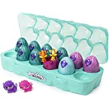 Hatchimals CollEGGtibles, Jewelry Box Royal Dozen 12-Pack Egg Carton with 2 Exclusive Hatchimals (Styles May Vary)
