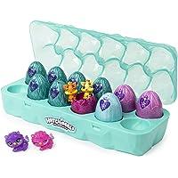 HATCHIMALS Colleggtibles, joyero Royal Docena 12 Unidades de Caja de Huevos con 2 exclusivos