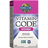Garden of Life Multivitamin for Women, Vitamin Code Women's Multi - 120 Capsules, Whole Food Women's Multi, Vitamins…