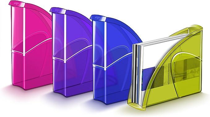 CEP Happy 674 + - Revistero archivador, color violeta: Amazon.es: Oficina y papelería
