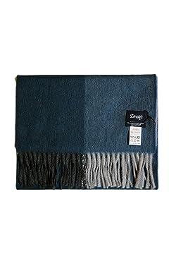 Wool Angora Scarf ALLAA 19752: Grey / Blue