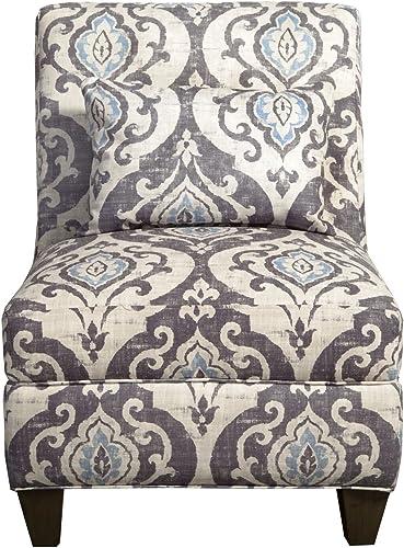 HomePop Slipper Armless Accent Chair