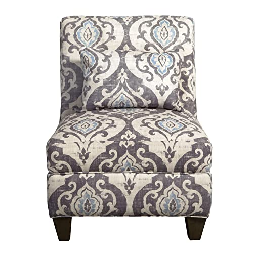 HomePop Slipper Armless Accent Chair