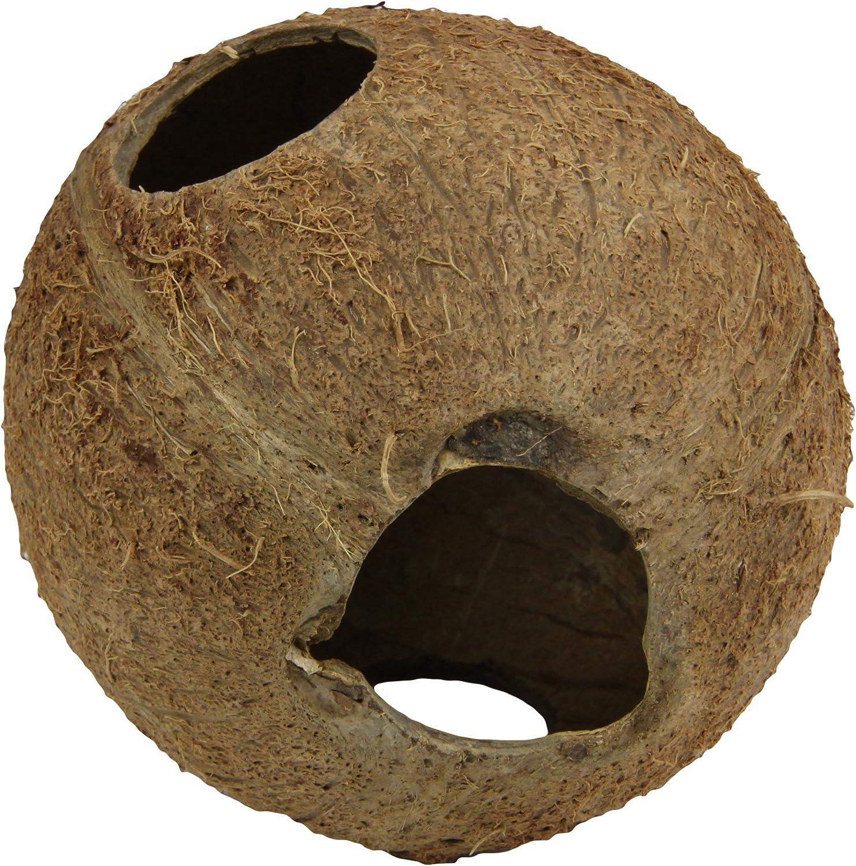 JBL Guscio di Noce di Cocco Ideale Come Grotta per acquari e terrari