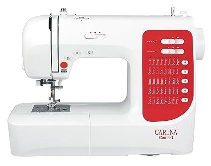 Carina H10A Comfort - Máquina de coser con accesorios (40 tipos de puntadas)