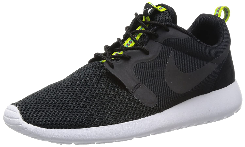 huge discount 7044e e3670 Amazon.com  NIKE Rosherun HYP Black anthracite venom Green 636220-003  (9.5)  Shoes