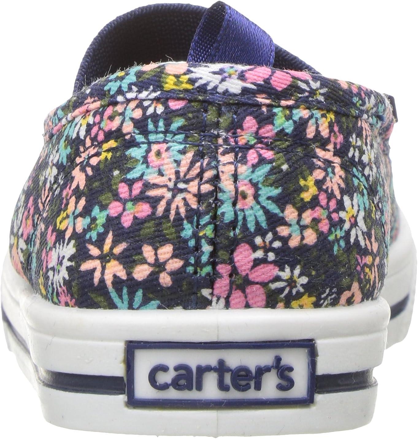 Carters Kids Girls Briana Floral Print Casual Maryjane Mary Jane Flat