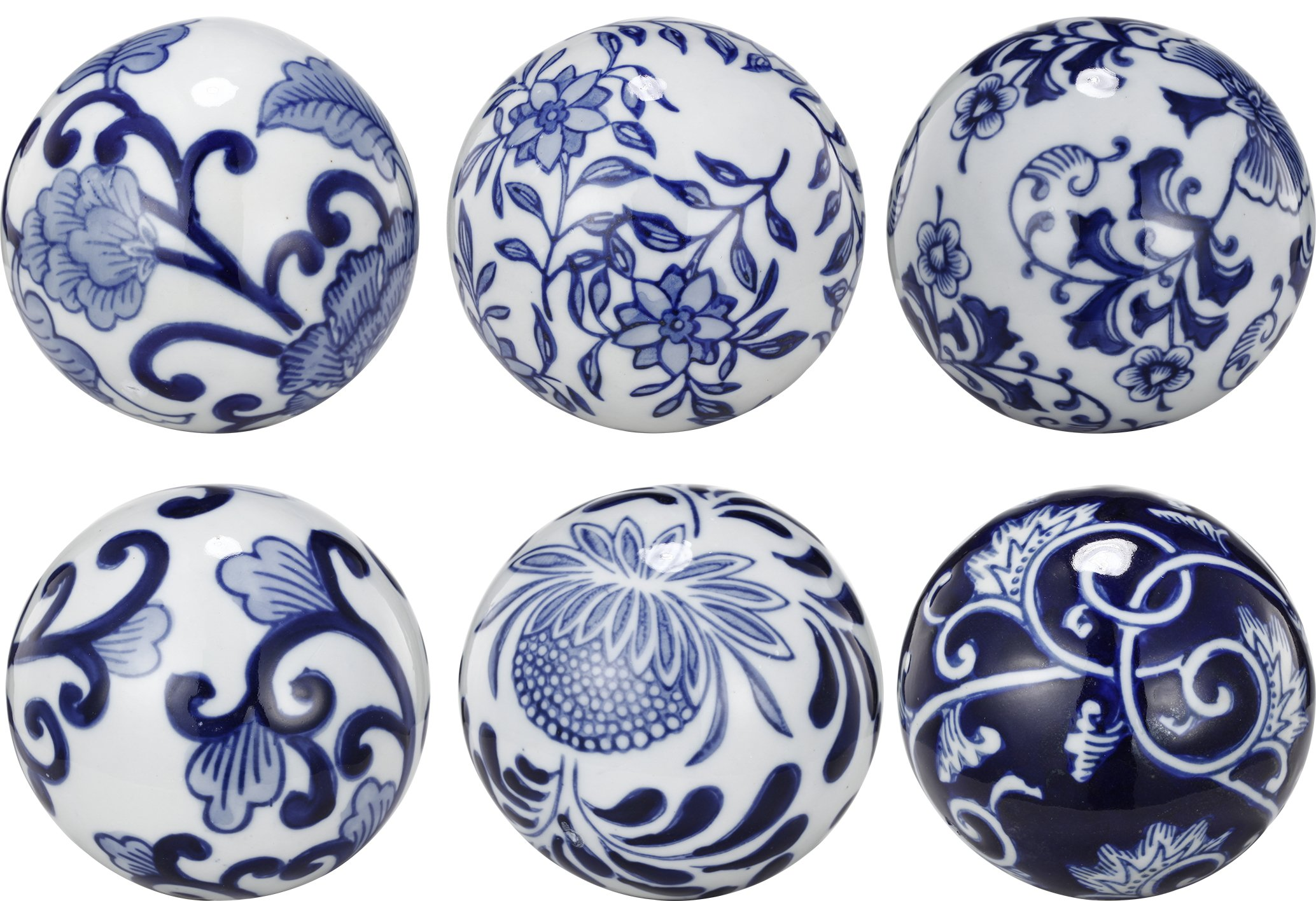 A&B Home Set of 6 Decorative Orbs by A&B Home