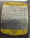 (VM3538) 1/2 Hp 230/460 Vac 3 Phase 56C Frame