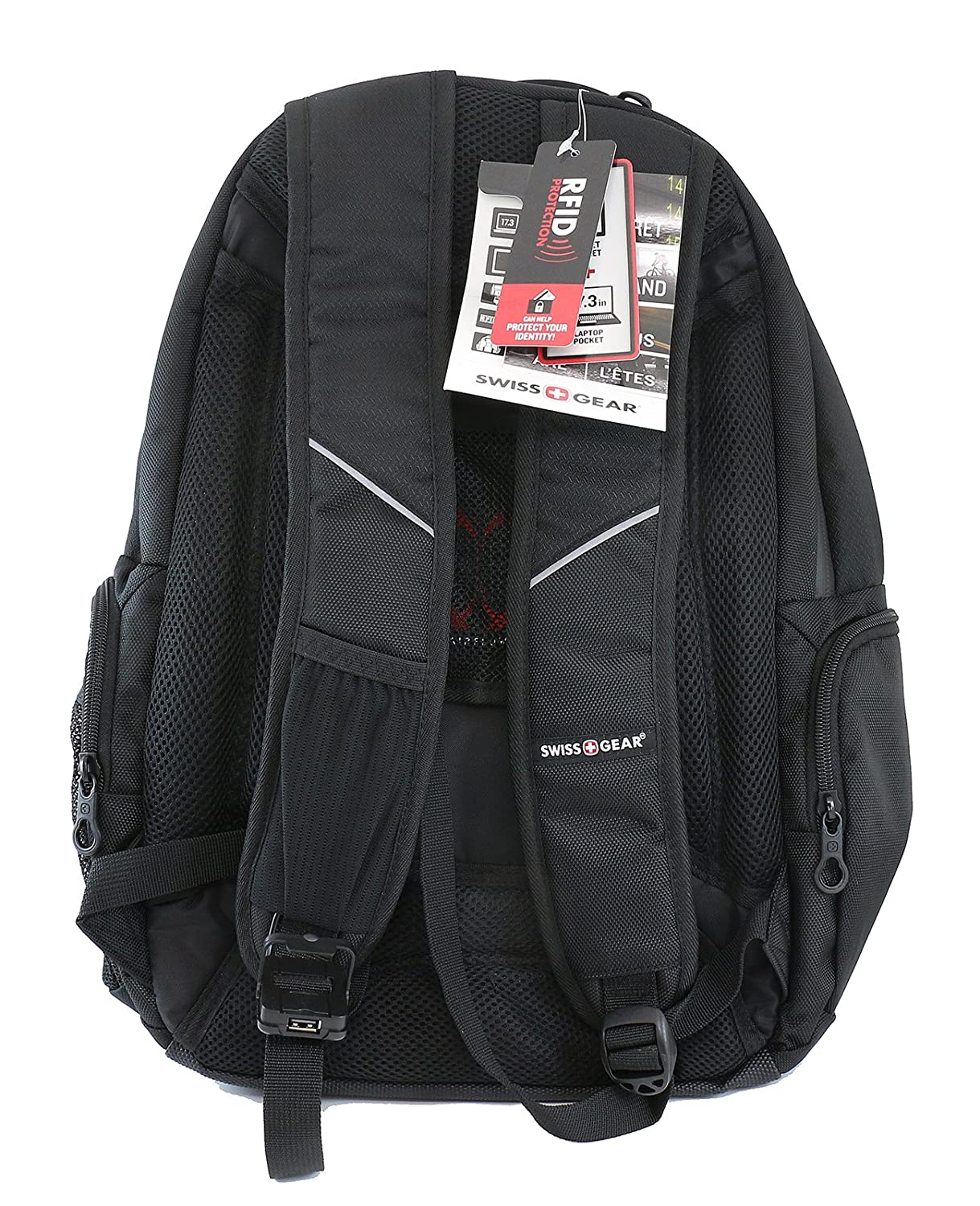 Amazon.com: Swiss Gear - Laptop and Tablet Backpack With USB Cable Integration and Fits Most 17.3