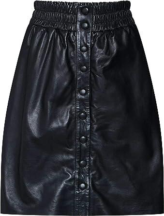 Pepe Jeans Falda Marie Negra para Mujer Large Negro: Amazon.es ...