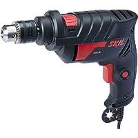 Furadeira Impact Skil 6600, 10 mm, 127V + 3 Brocas, Bosch F0126555AG, Preto