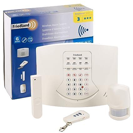 Sistema de alarma inalámbrico de respuesta de Friedland SA3 ...