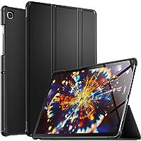 Luibor Samsung Galaxy Tab S5E 10.5 Inch Estuche - Cubierta Elegante y Delgado Estuche de Piel Ultra Ligero Estuche para Samsung Galaxy Tab S5E 10.5 Inch (Wi-Fi) y (4G LTE) Tableta (Negro)