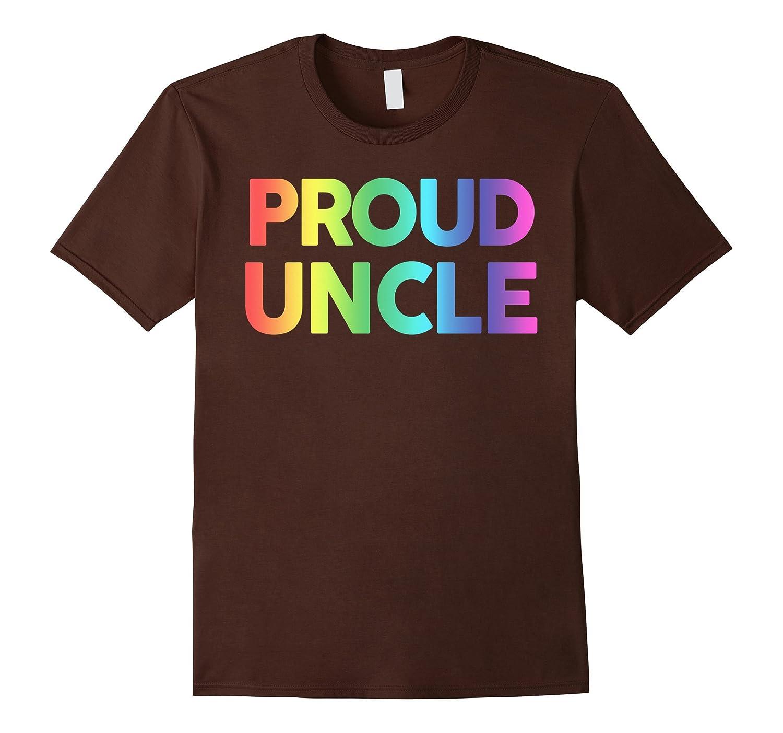 Proud Uncle shirt, LGBT Uncle shirt, Gay pride shirt, LGBT