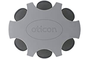 Oticon ProWax MiniFit Replacement Wax Filters for Hearing Aids (Small, Black)