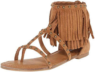 Not Rated Womens Xenia Dress Sandal Taupe Size 75