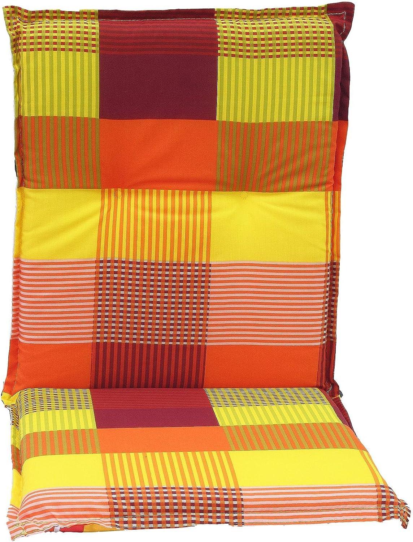 Cuscini per esterno per schienale basso per sedie da giardino stripe prendisole o plaid