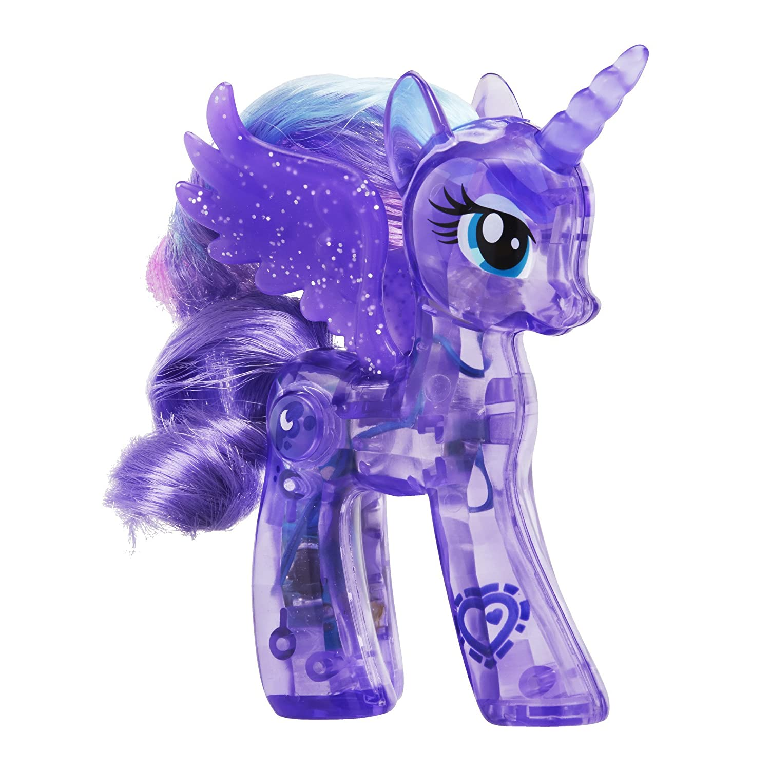 Amazon.es: My Little Pony Explore Equestria Sparkle Bright 3.5-inch Princess Luna by My Little Pony: Juguetes y juegos