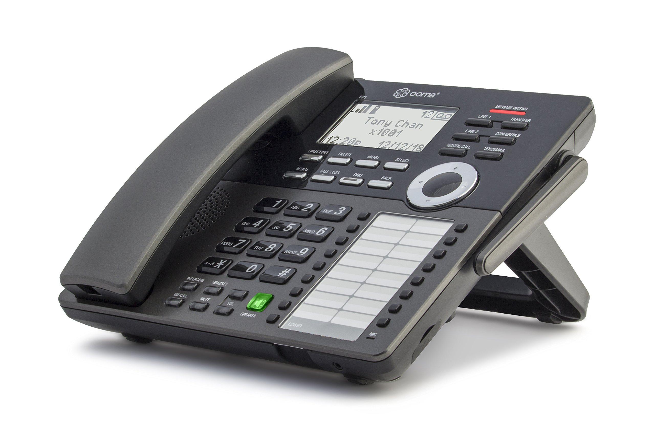 Ooma Office DP1-O Wireless Desk Phone, Black