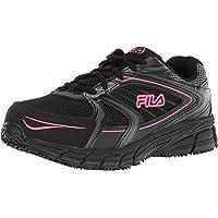 FILA Memory Reckoning 8, antideslizamientos, Puntera de Acero Zapato para Trabajo para Mujer