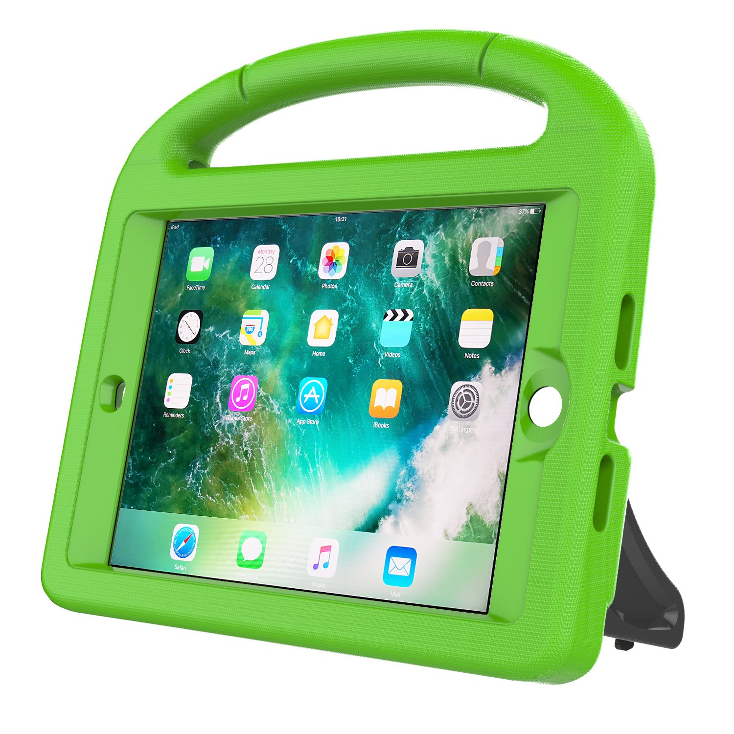AVAWO Kids Case Built-in Screen Protector for iPad Mini 1 2 3 Rose iPad Mini 3rd Generation Light Weight Shock Proof Handle Stand Kids for iPad Mini 1st Generation iPad Mini 2nd Generation