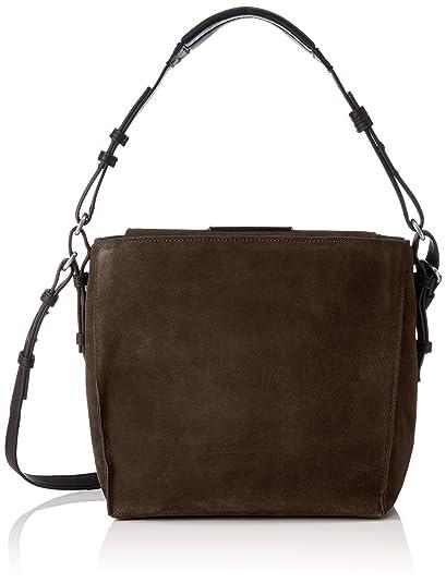 Marc O'Polo Thirtyfive, Women's Shoulder Bag, Braun (Dark