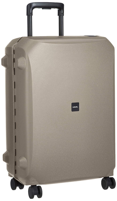 55f905db75 Amazon | [ロジェール] スーツケース 不可 保証付 66L 66 cm 4.2 kg VOJA-M グレー | スーツケース