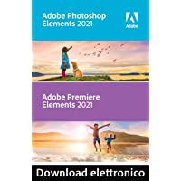 Adobe Photoshop & Premiere Elements 2021 | 1 Usuario | PC | Código de activación PC enviado por email