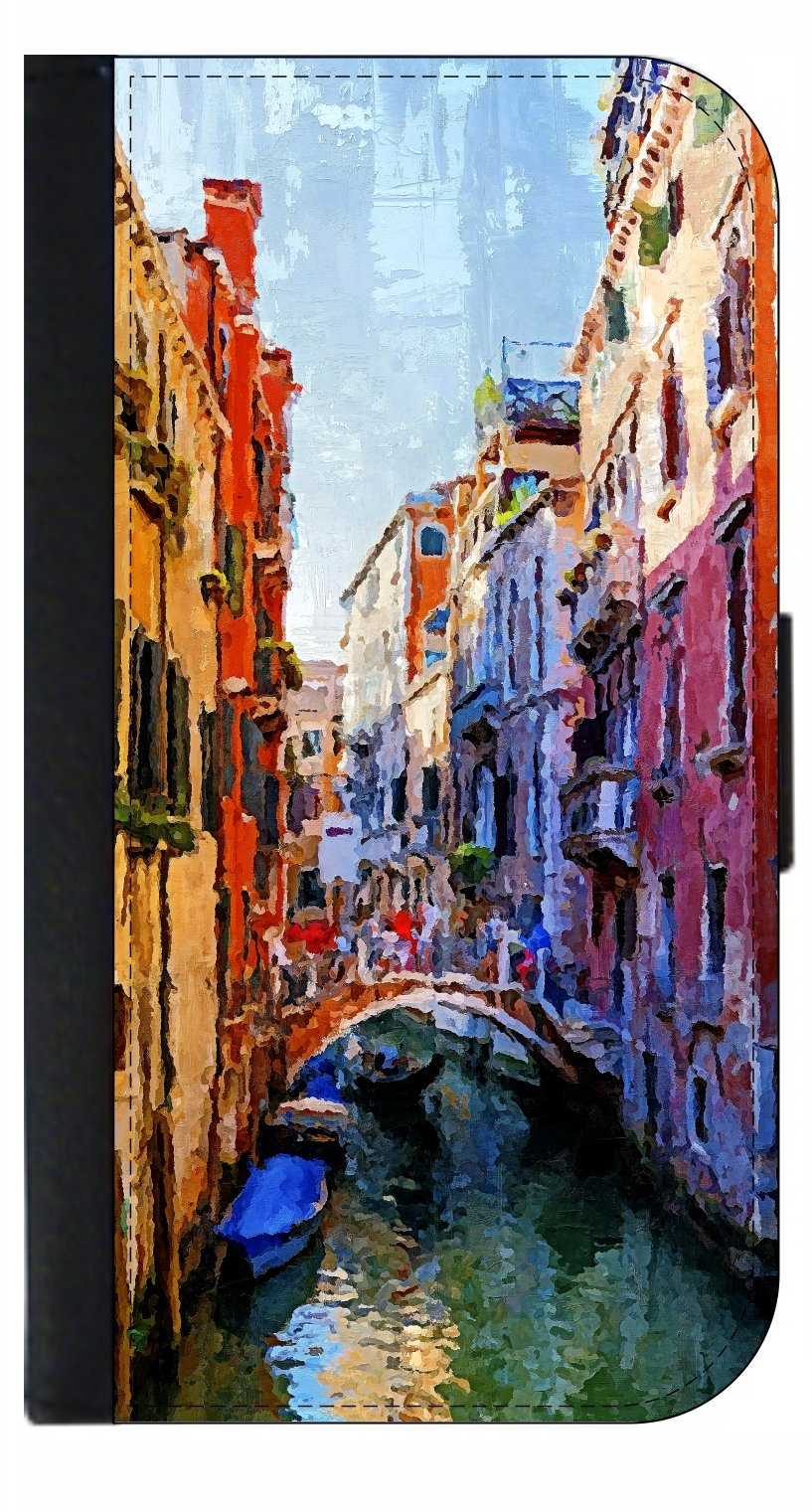 Venice Painting - Passport Cover / Card Holder for Travel